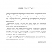 THE FACE OF PRAYER, Introduction